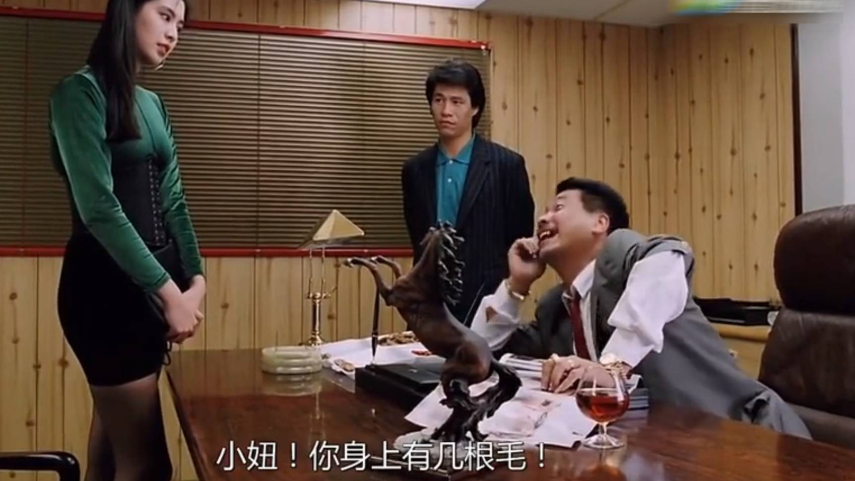 王祖贤这黑丝这身材你不馋吗