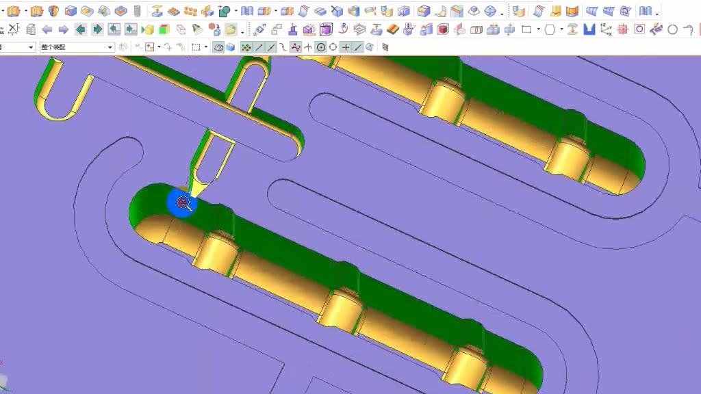 UG编程-教大家特殊拐角电极如何设计.