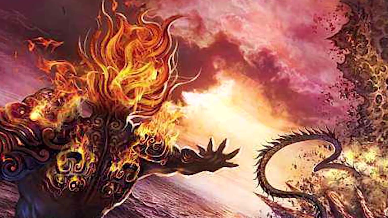 上古神话05——史前大洪水的罪魁祸首是共工和颛顼