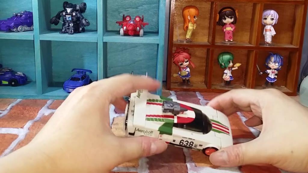 顽皮鼠的玩具分享变形金刚地出D级千斤顶开箱测评分享