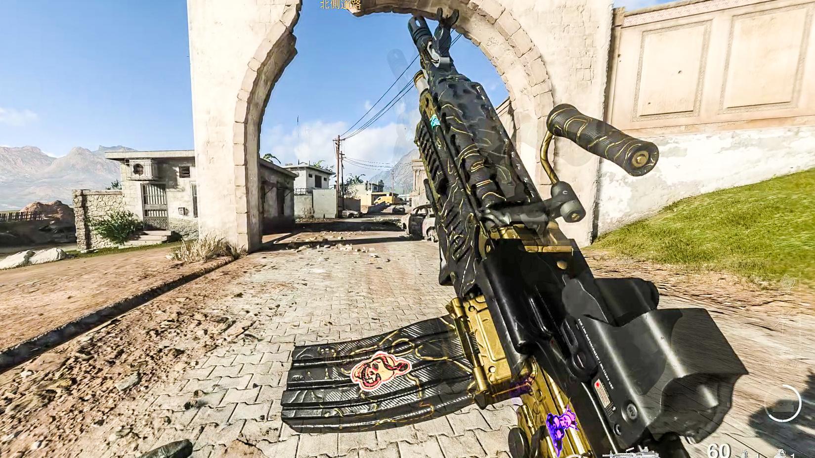 使命召唤16 当你拥有200发子弹M249,手撕坦克不是问题