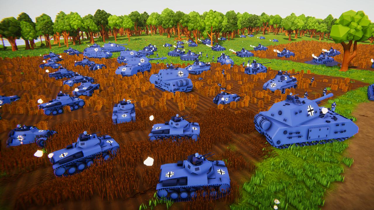 坦克模拟器德国战役01:闪电突袭波兰,钢铁洪流势不可挡!
