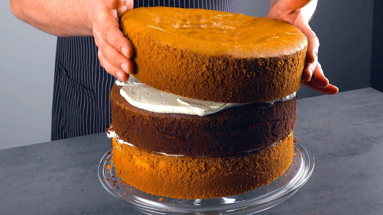 生日蛋糕这样做,太简单啦!以后再也不用去买蛋糕了!