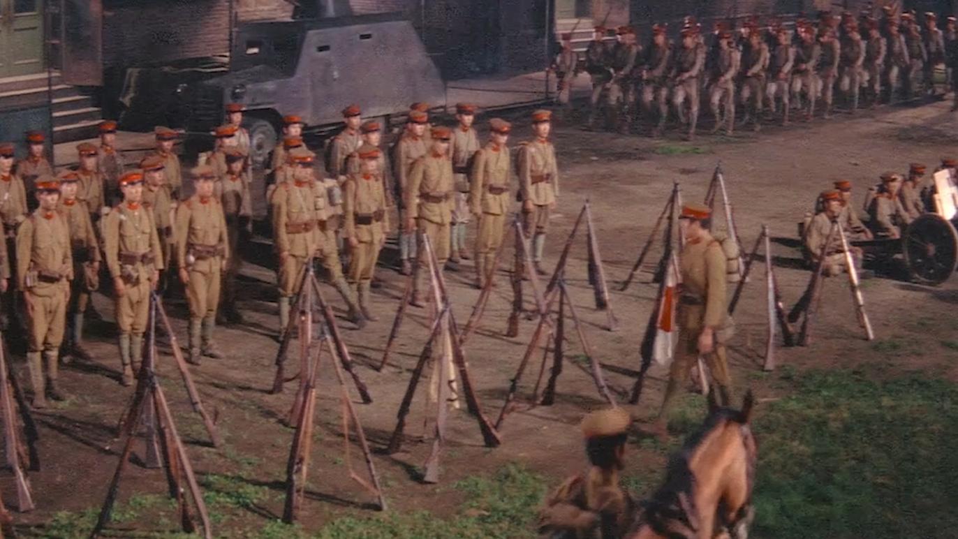 日本1970年拍的抗日剧,日军居然成为了抗日八路