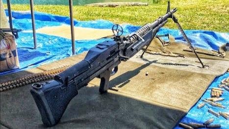 [GunsOfTheWorld]近看射击全自动M60机枪