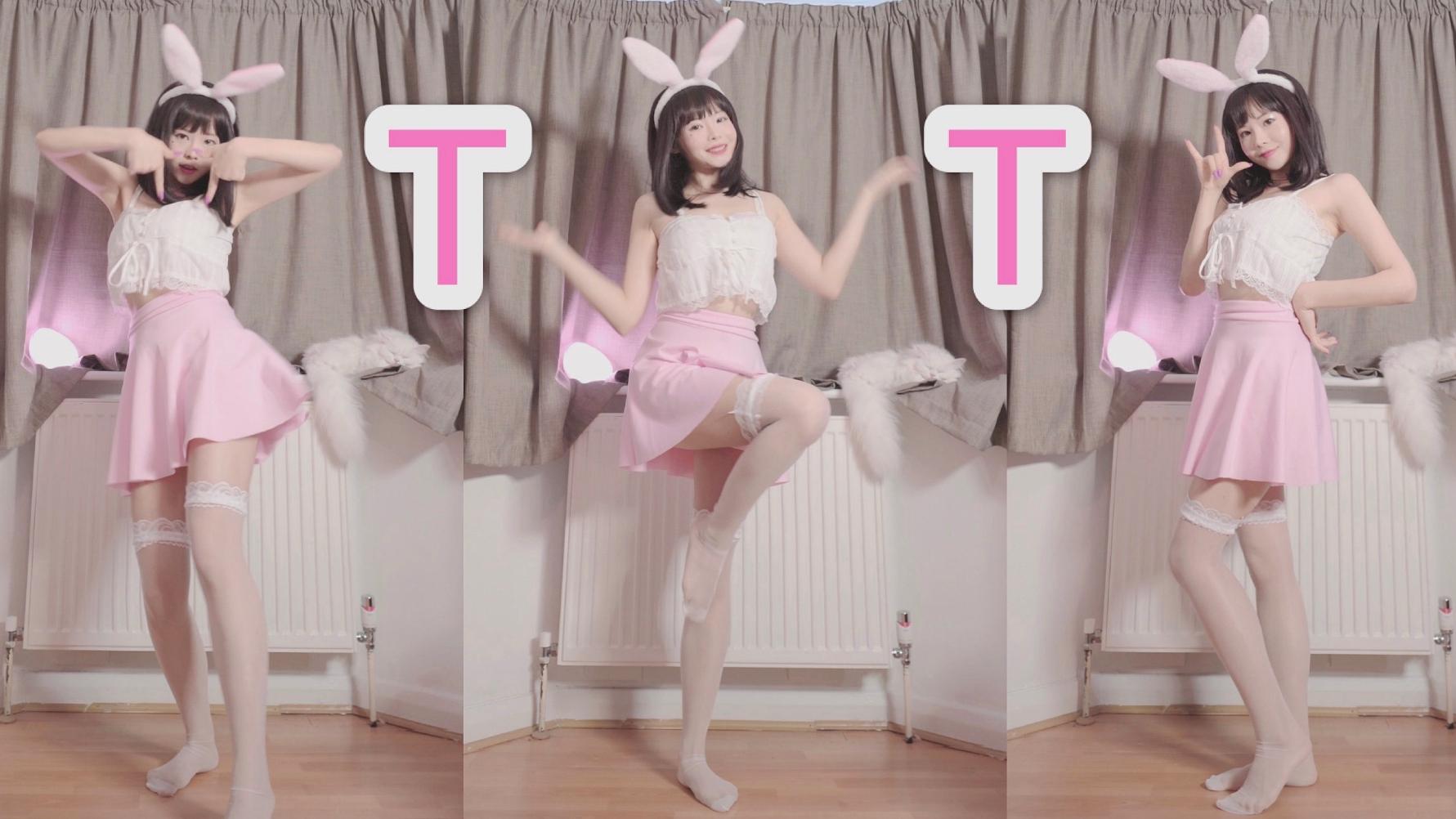 铁刘海软萌兔 肉肉的撒娇舞Twice TT竖屏