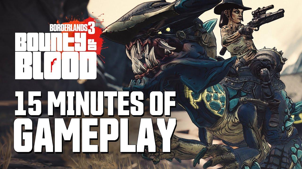 无主之地3浴血镖客DLC 15分钟实机游戏影片