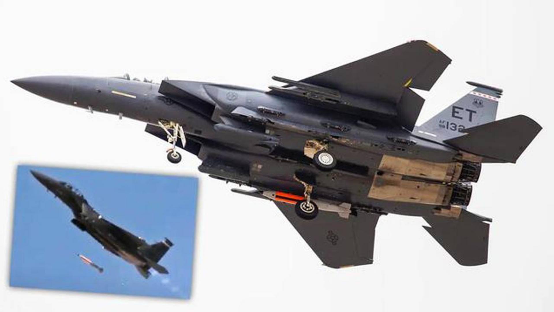美军F-15成功测试B61-12智能核弹  B-21、F-35也将携带!