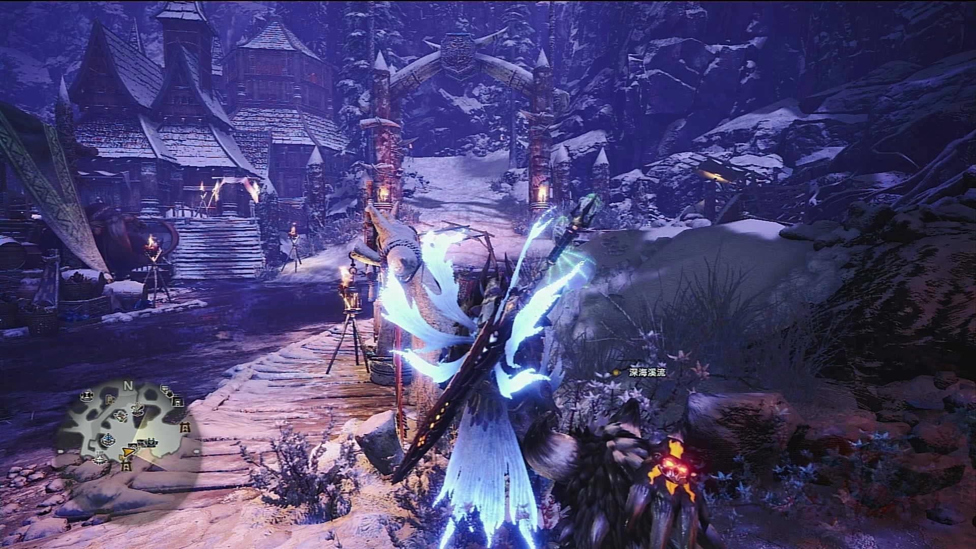 PS4怪物猎人冰原20200613概况,学玩太刀单挑历战雷狼王