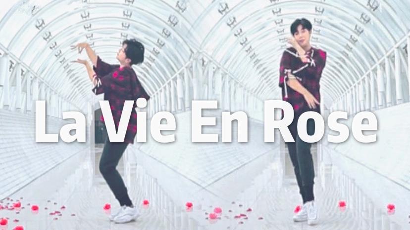 【孽孽】La Vie en Rose◈玫瑰人生◈男生翻跳人工撒花绝美花海