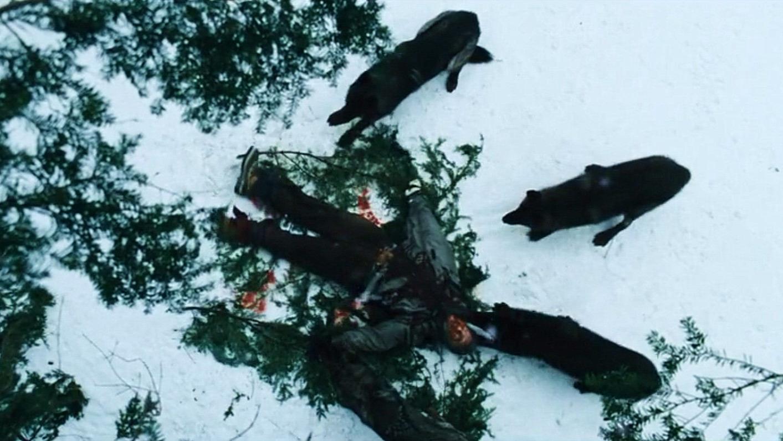 8人被困在冰天雪地中,周围埋伏着一群狼,最终展开了人狼大战!