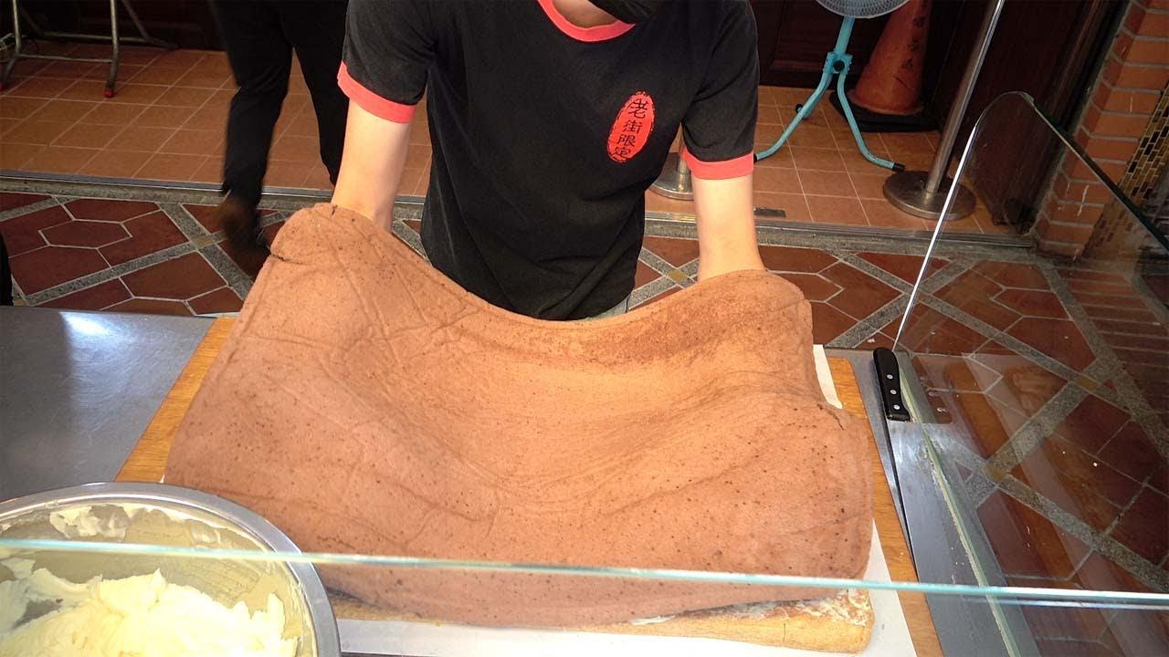 台湾人的这块蛋糕,真不一般,里里外外整整6层,每层口感都不同!