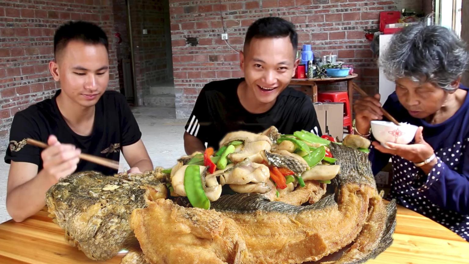 吃了这么多年的乌鱼,还是这样做好吃,鱼肉嫩滑,鱼骨酥脆真过瘾