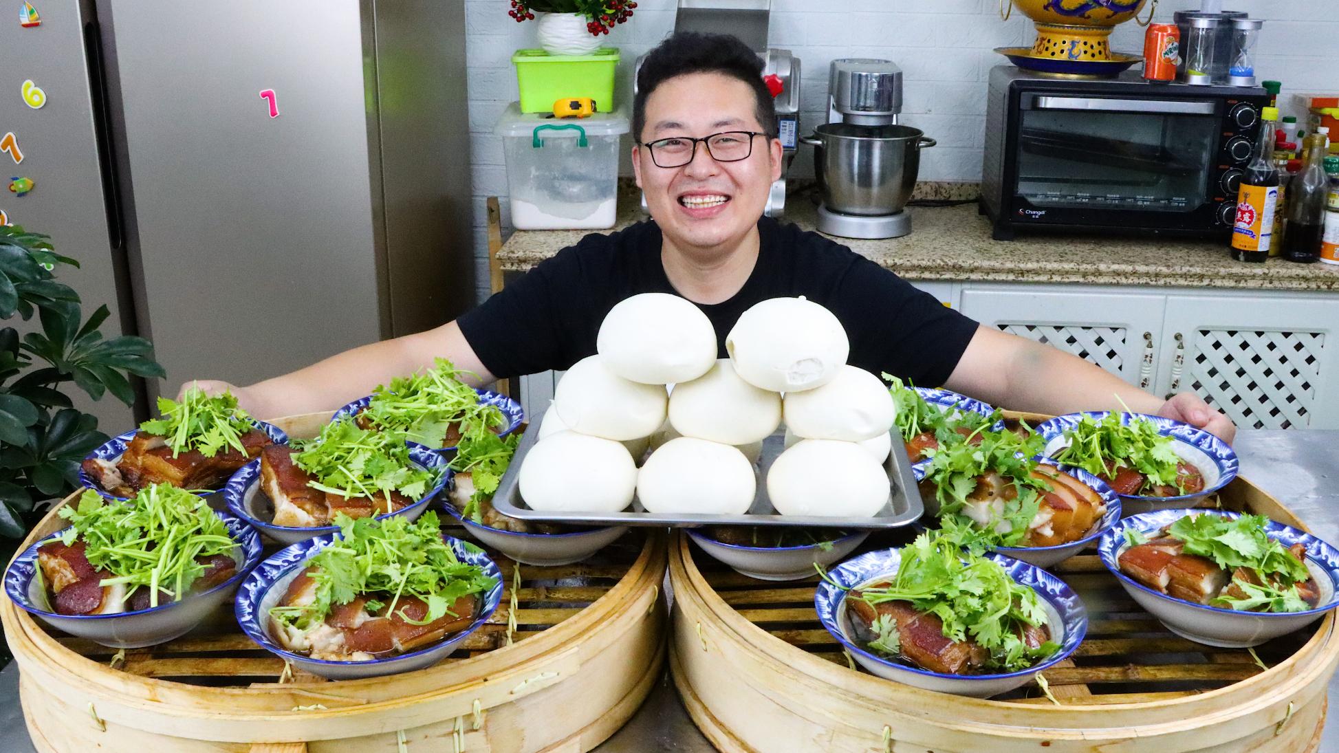 """660买30斤五花肉,做顿""""扣碗""""解解馋,软烂化渣,肥而不腻"""