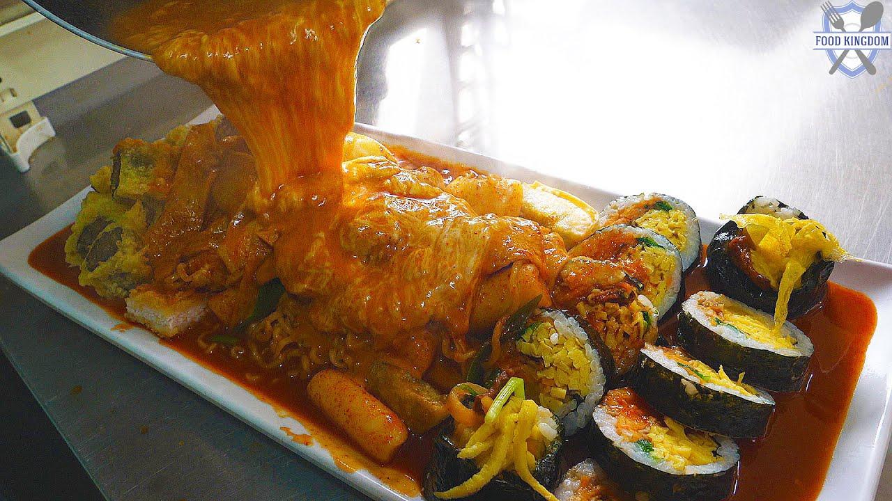 济州岛最受欢迎的什锦菜,韩国街头小吃!
