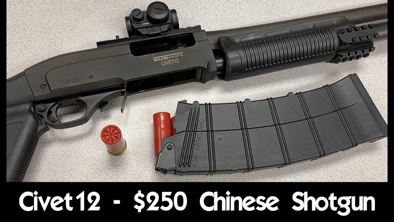 【InRange/双语】当97-2走出国门--评测250刀不到的中国Civet 12霰弹枪