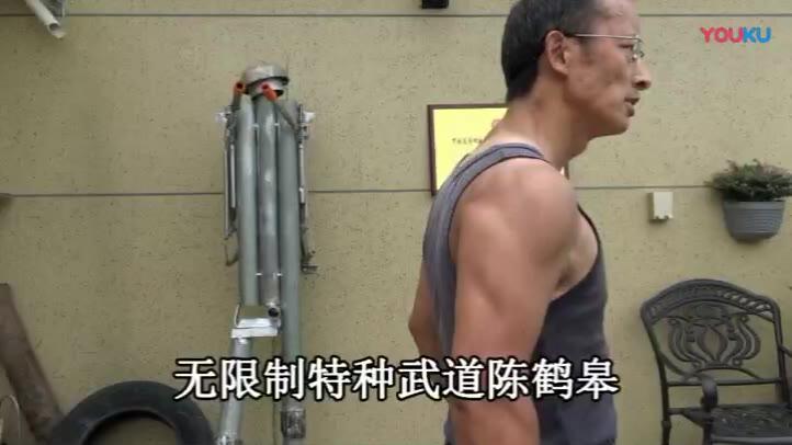 陈鹤皋讲解无限制格斗的理念
