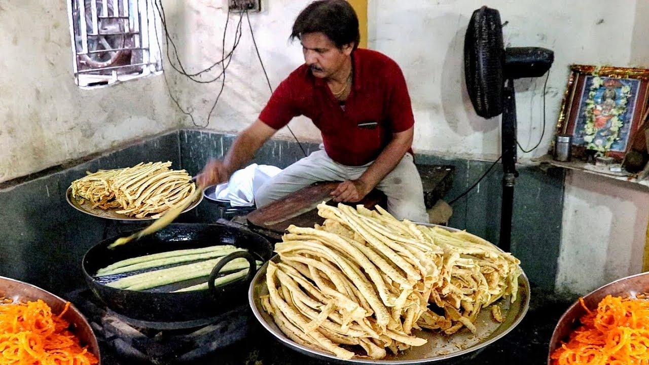 这是印度的特色美食:炸油条,看看怎么样?感觉好吃吗?