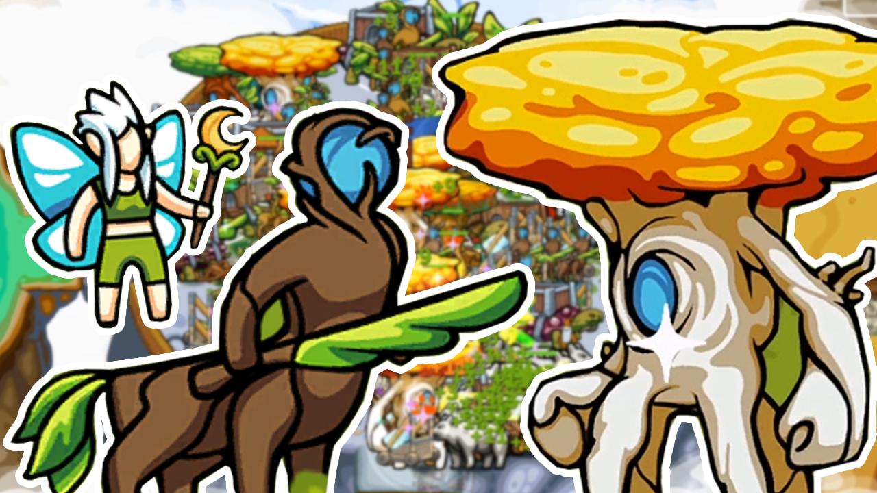 环形帝国2:全新种族精灵与树人,感受大自然的愤怒!