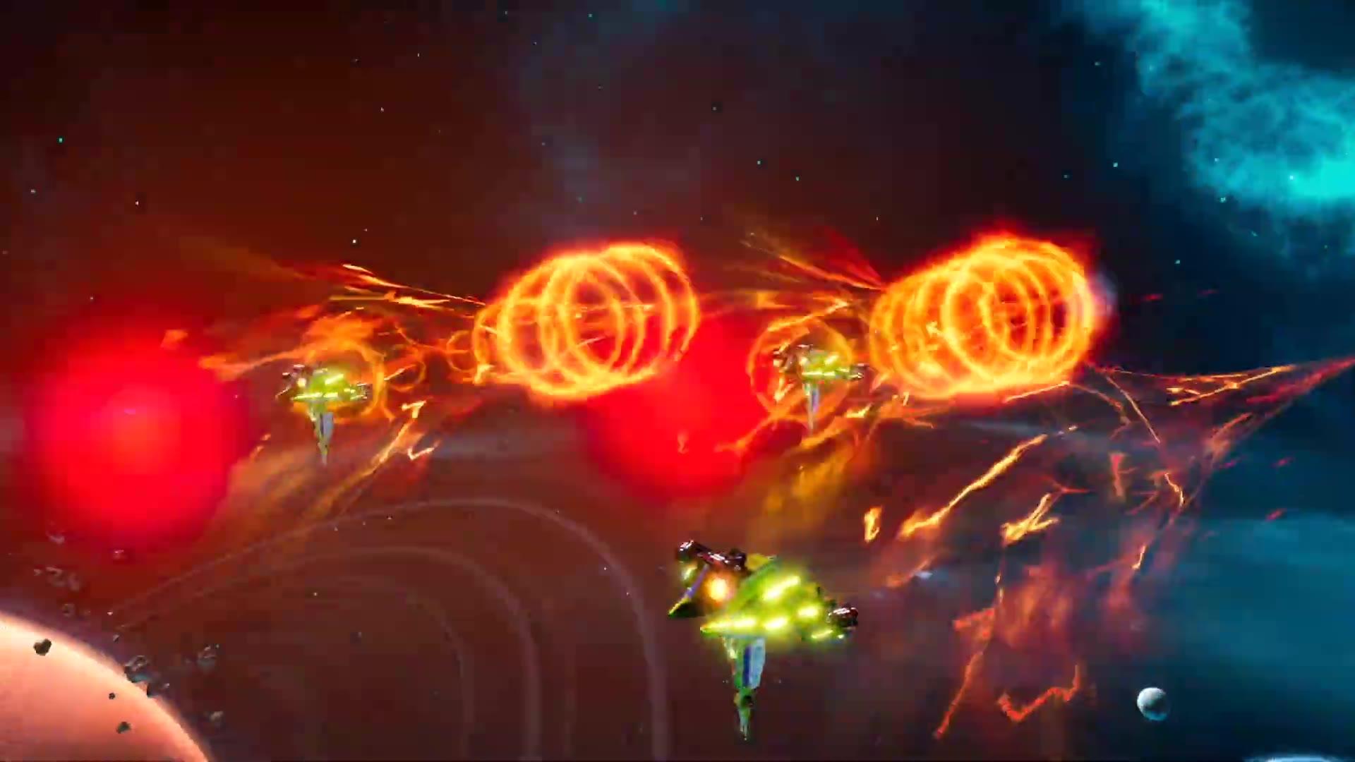 太空策略游戏《雄蜂战机》预告
