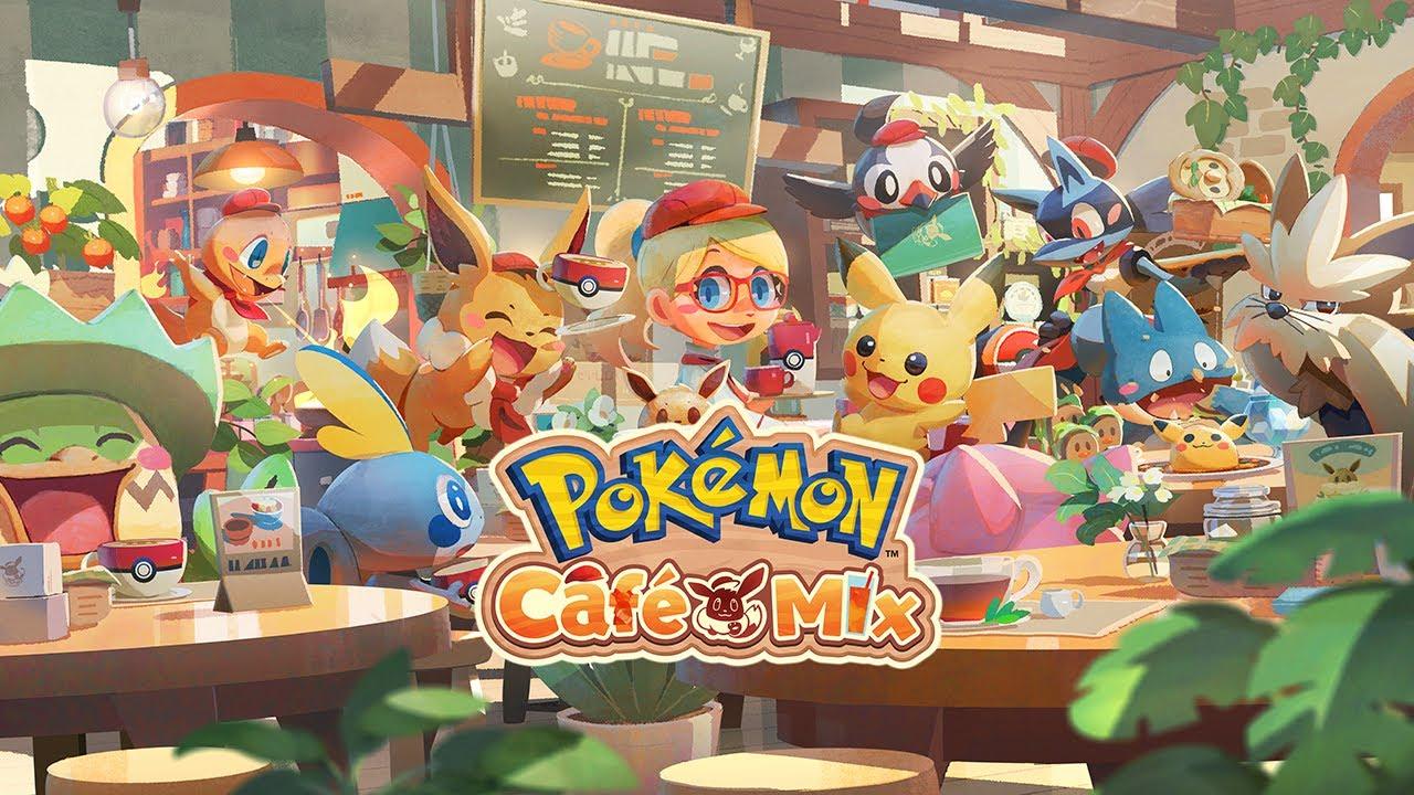 轉來轉去串聯消除益智遊戲Pokémon Café Mix首次公開影像公開