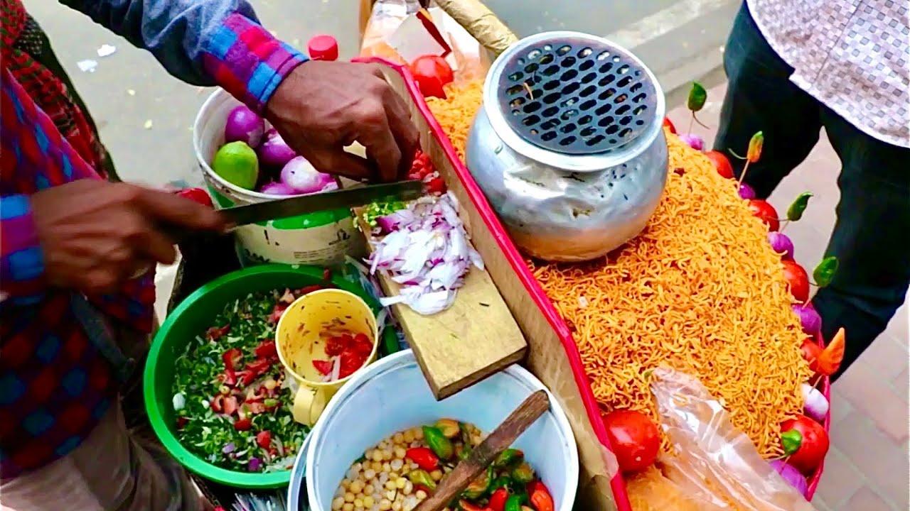 看看一份著名印度的街头小吃,要用多少配料,光蔬菜就用了5种!