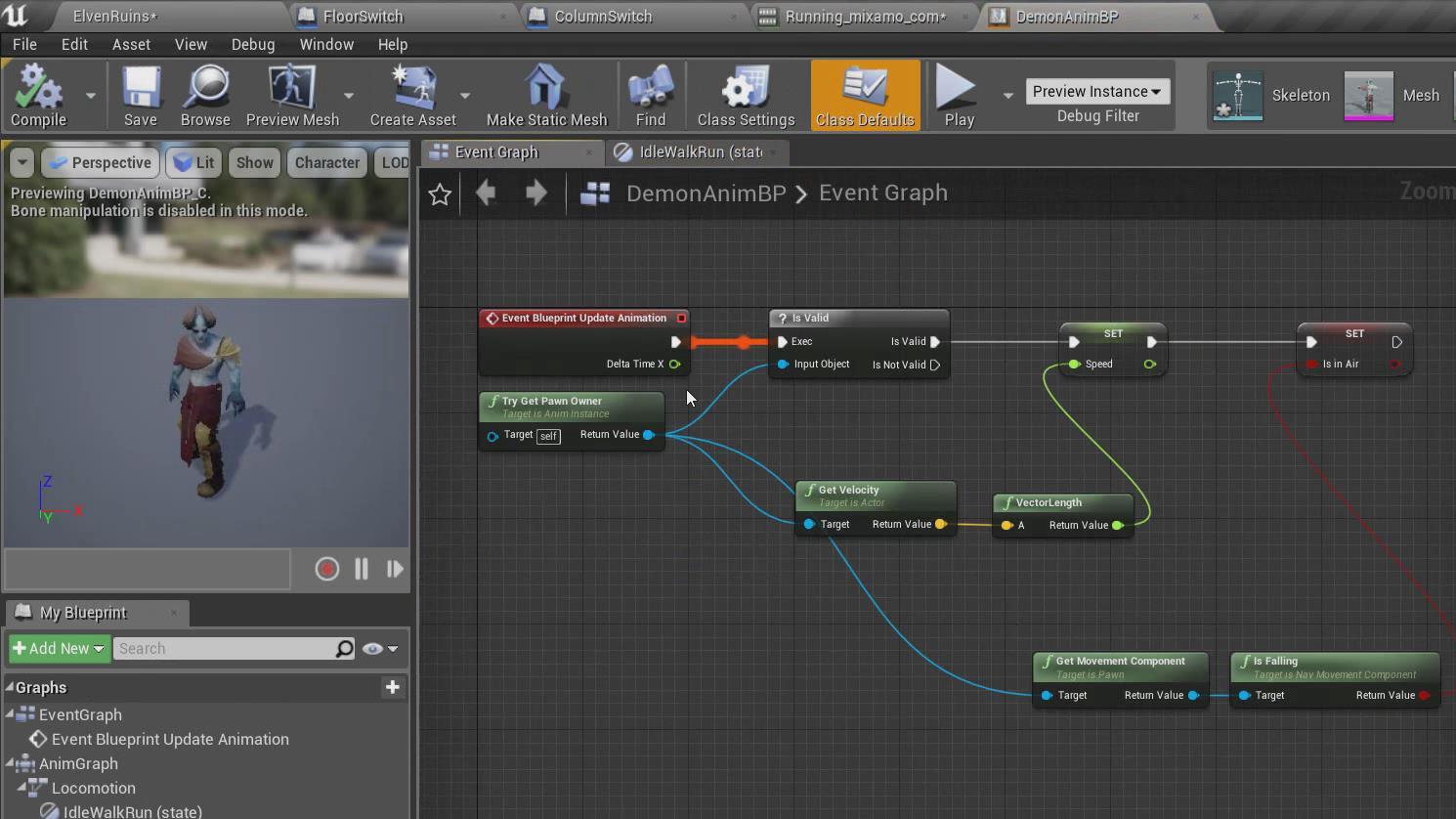 【UE4】Unreal Engine虚幻游戏引擎蓝图核心技术训练教程(中英双字)
