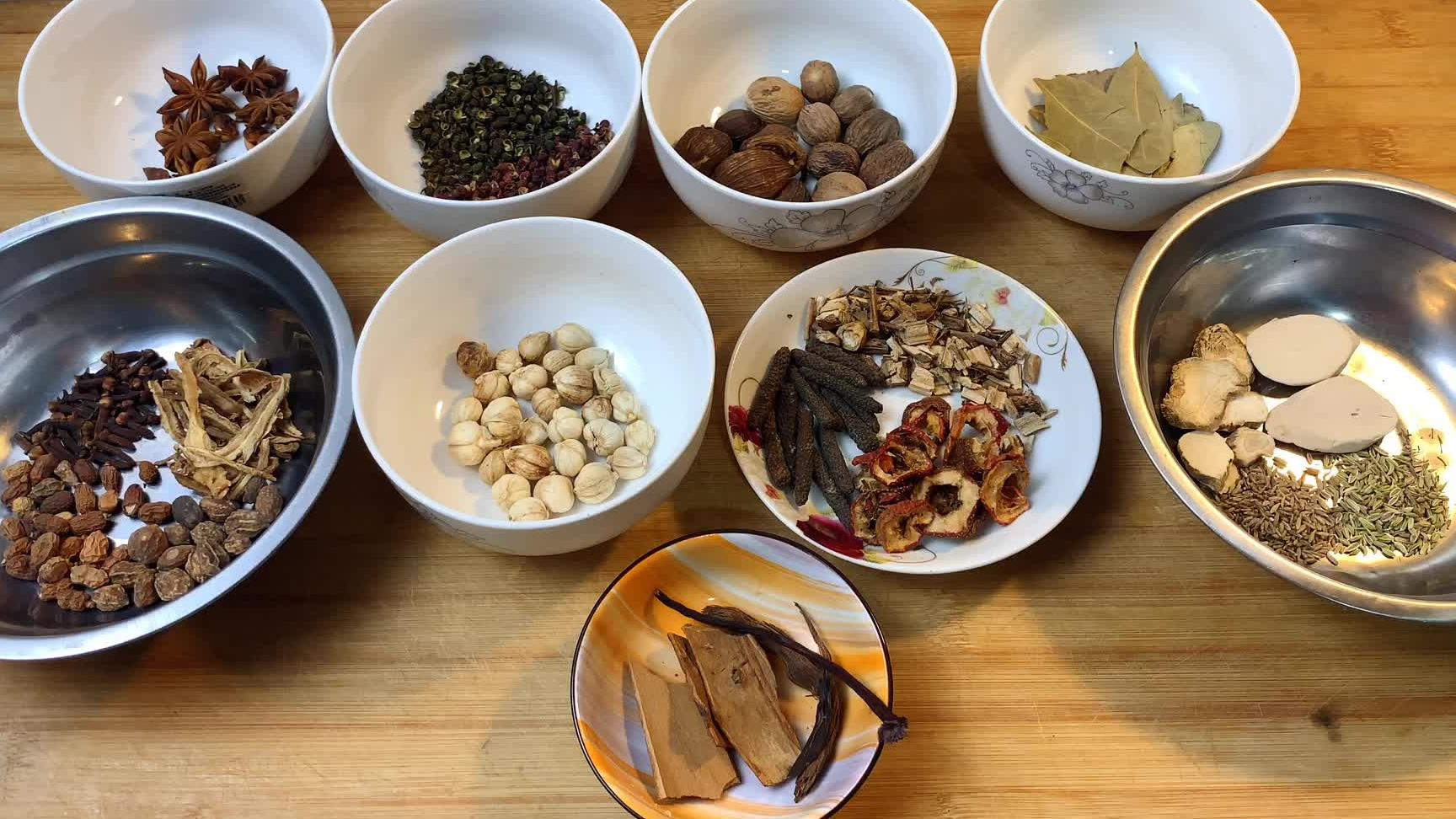 大厨详细讲解二十多种香料用途和名称,通俗易懂,建议收藏