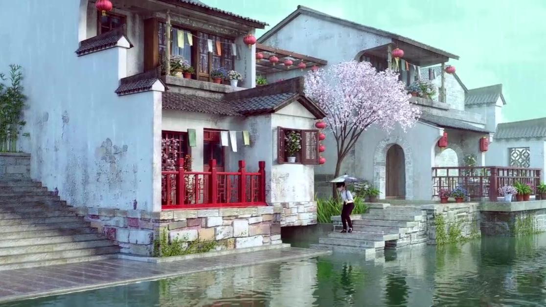 动画短片 - 雨之歌