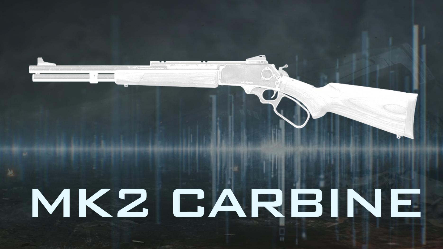 杠杆式·指间的舞者 MK2 Carbine 卡宾『现代战争武器指南』VOL.21