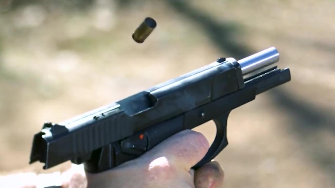 【名枪实弹】中国CF 98手枪
