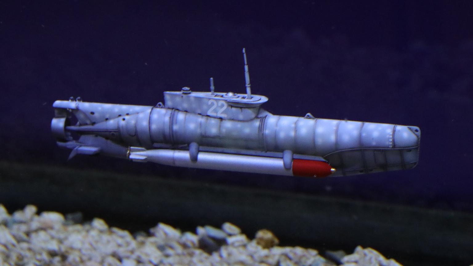 """【静改动】""""海豹""""微型潜艇 静改动试航"""