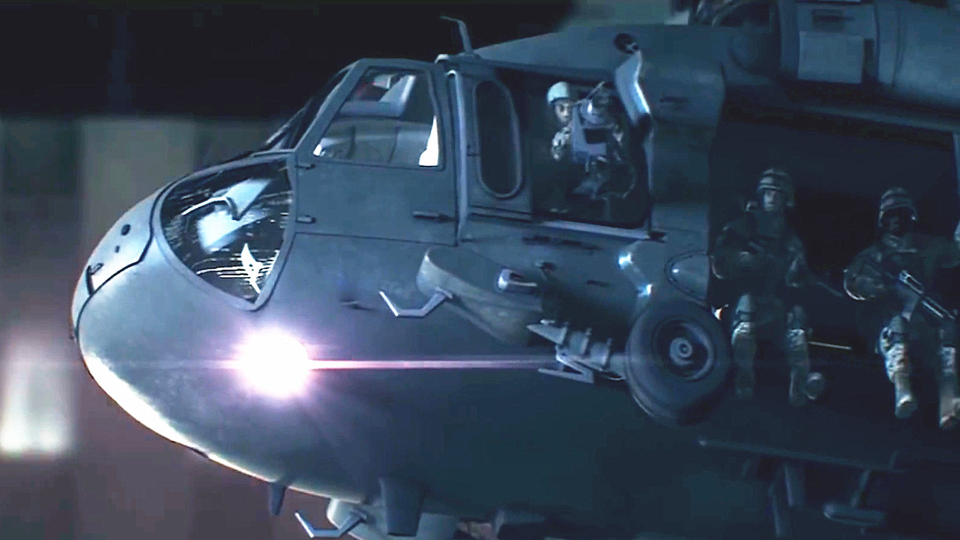 【一色】丧尸病毒CG短片:城市病毒爆发,军队开始封城警戒,战机出动