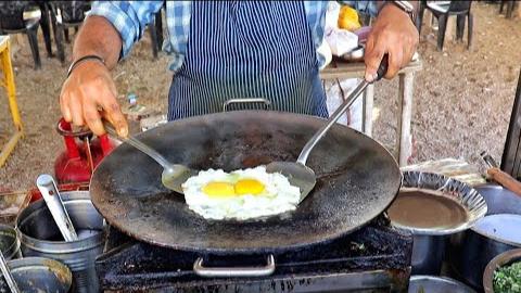 【印度街边小吃】 - 三层鸡蛋咖喱-苏拉特名菜