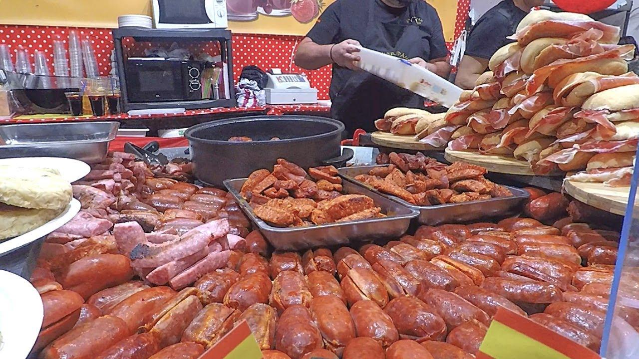 【世界上最大的意大利街头美食盛会】- 烤肉,海鲜