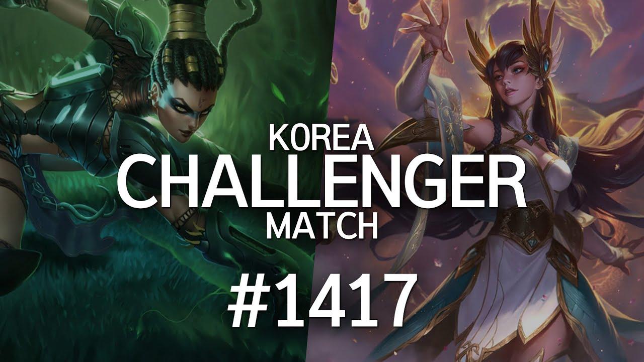 韩服最强王者菁英对决 #1417丨直接拜你为师