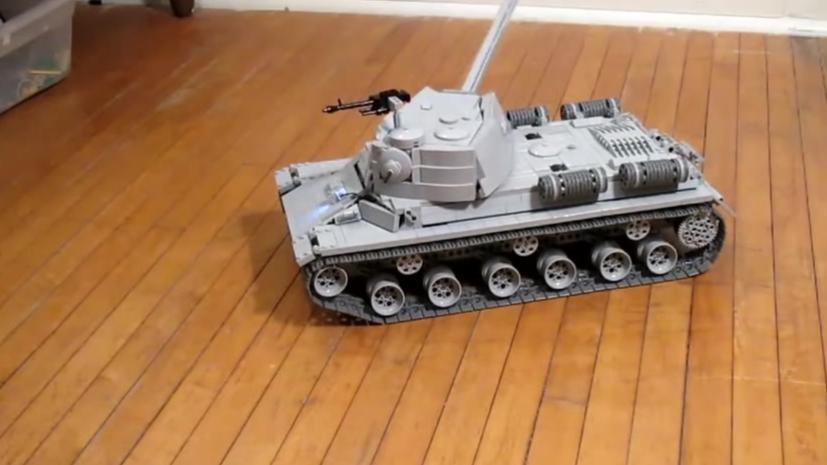 乐高 MOC IS-2重型坦克 玩家MOC