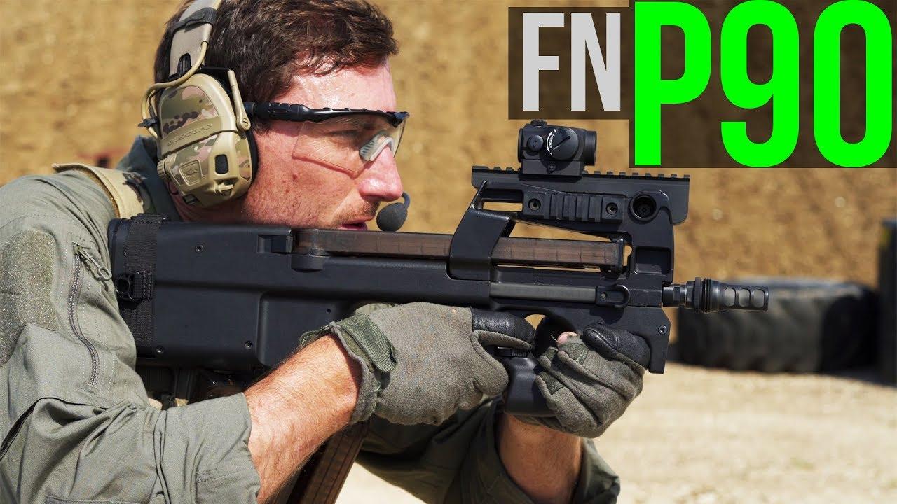 中文字幕【Garand Thumb】Rush B FN P90 评测