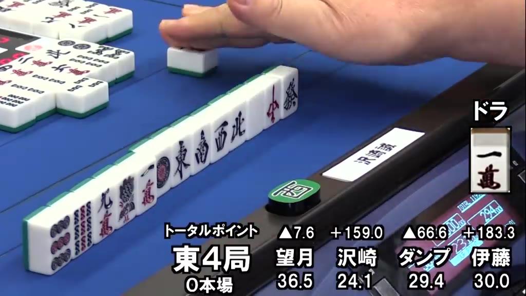 【日麻】沢崎誠 - 国士无双十三面听 - 日本职业麻将联盟