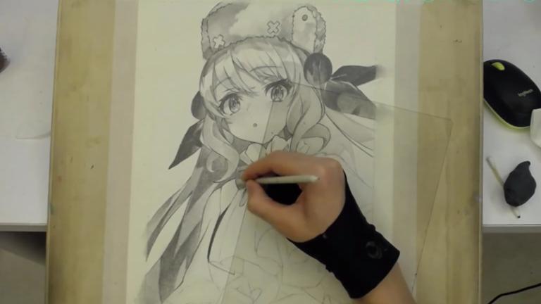 【铅笔手绘】 粉丝给的图,画就完事了