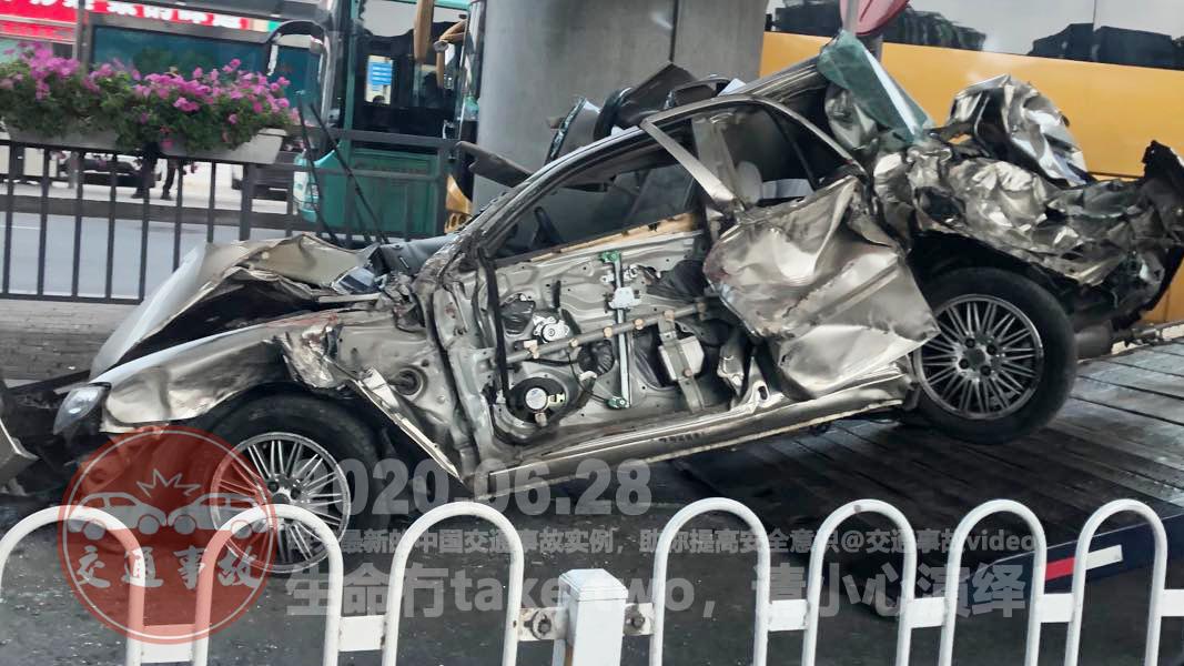 中国交通事故20200628:每天最新的车祸实例,助你提高安全意识
