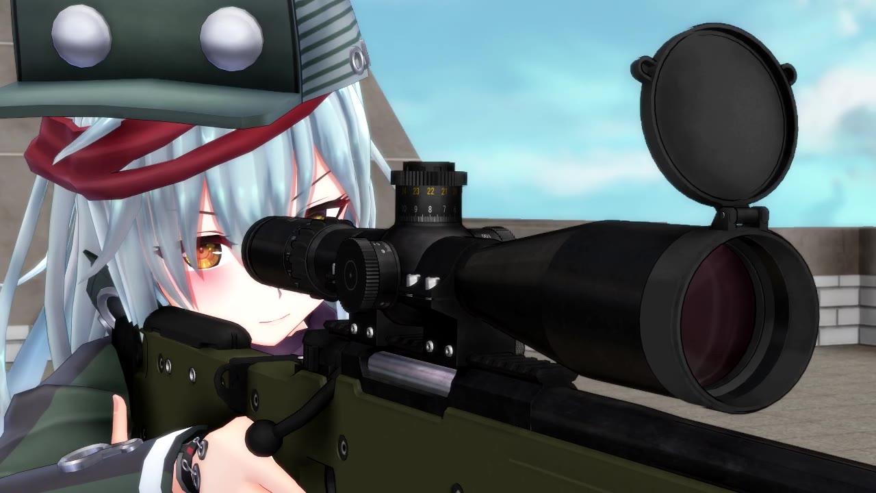 [电影神还原系列] MMD大神们制作的狙击精英:巅峰对决片段演示