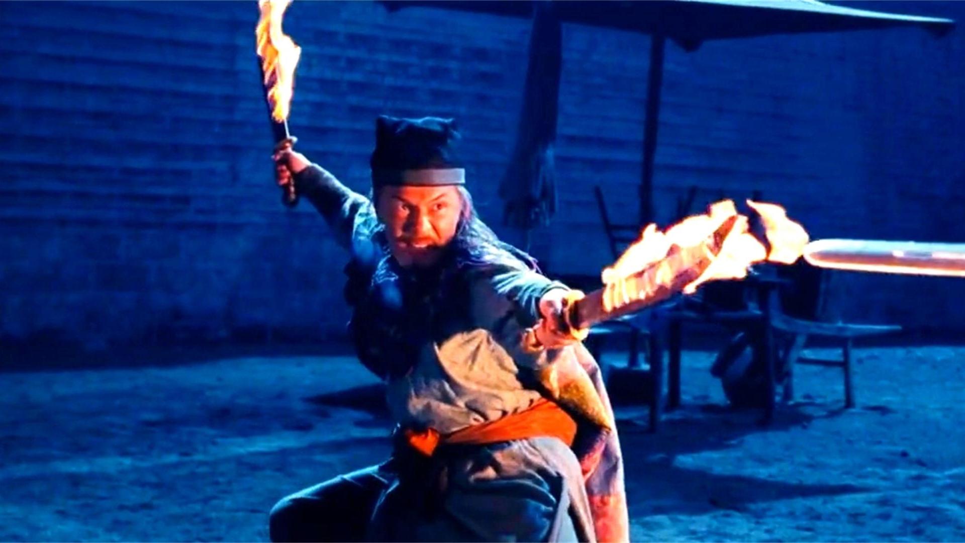 武侠片《剑雨》中,黑石集团内部四大高手大乱斗,到底谁最厉害