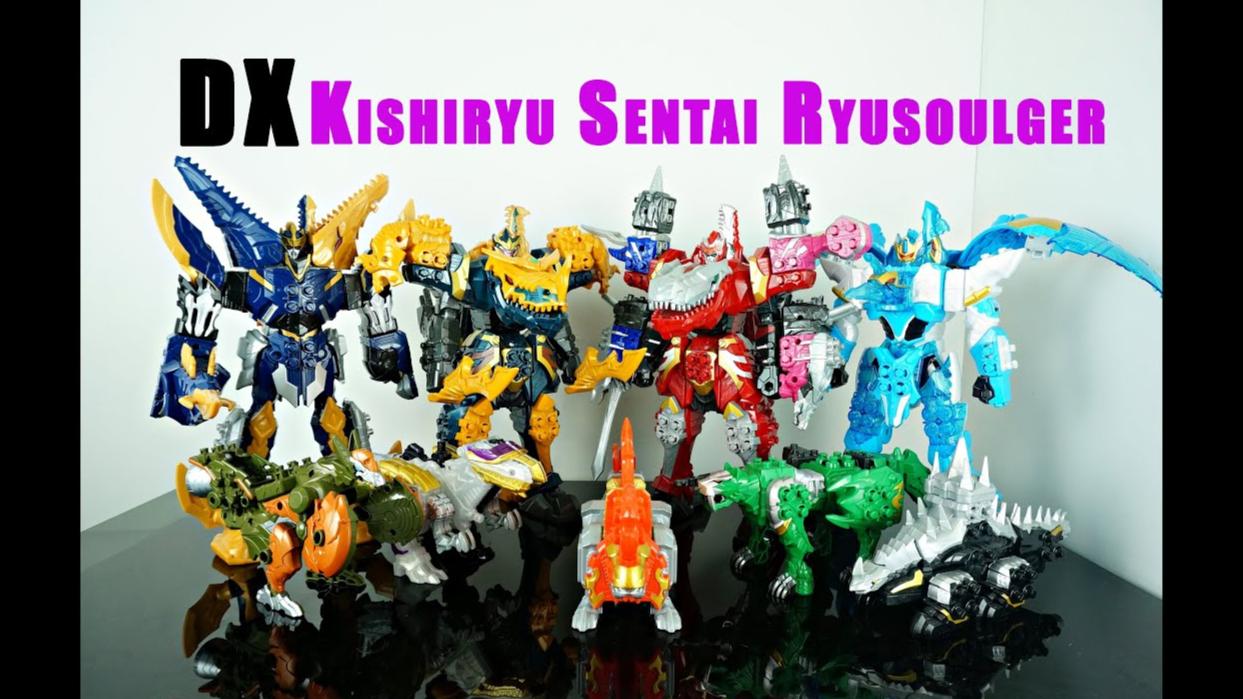 【DH】骑士龙战队 DX  全合体  机器人