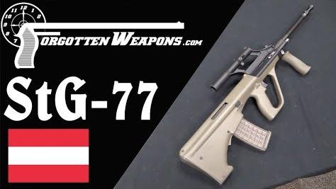 【被遗忘的武器/双语】斯太尔AUG--奥军的StG77突击步枪
