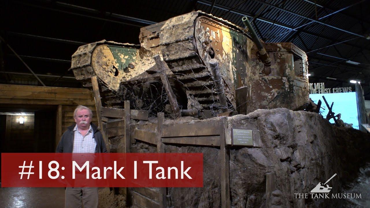 【坦克讲座/双语】坦克之母--一战MkI菱形坦克