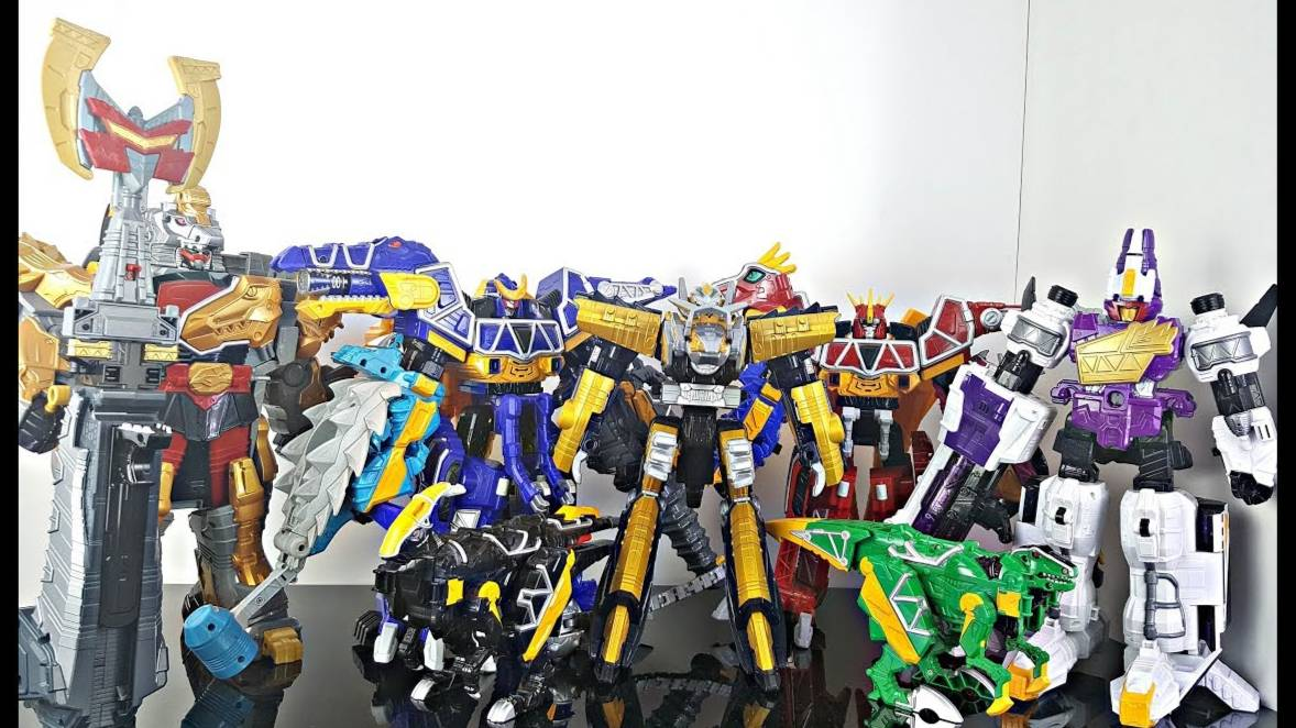 【DH】兽电战队 DX  全合体  机器人