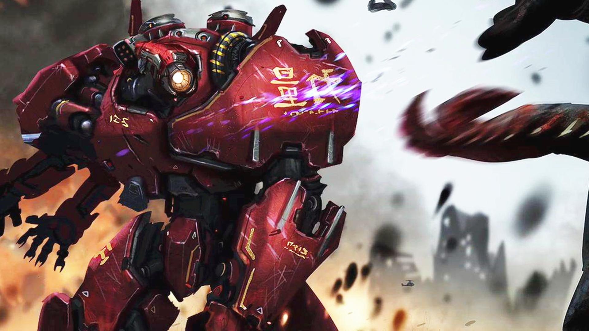 国产机甲三招就被锤爆?不是中国制造不行而是怪兽太强,高燃科幻