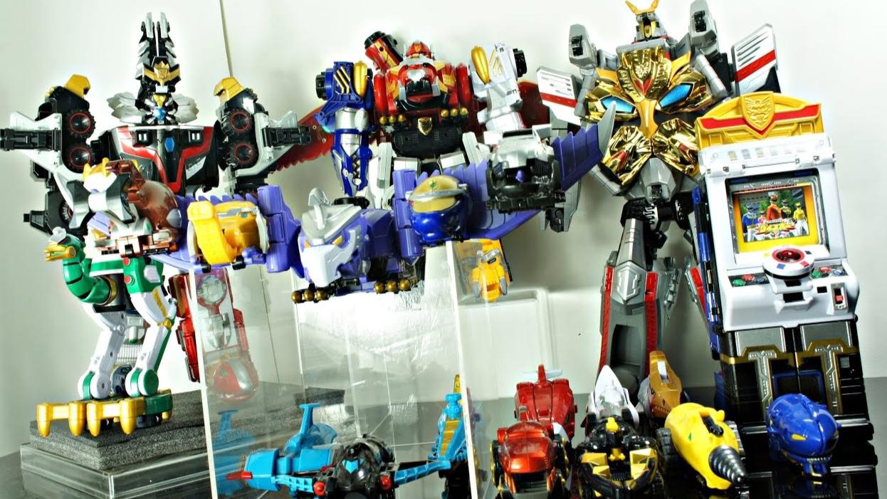 【DH】天装战队 DX  全合体  机器人