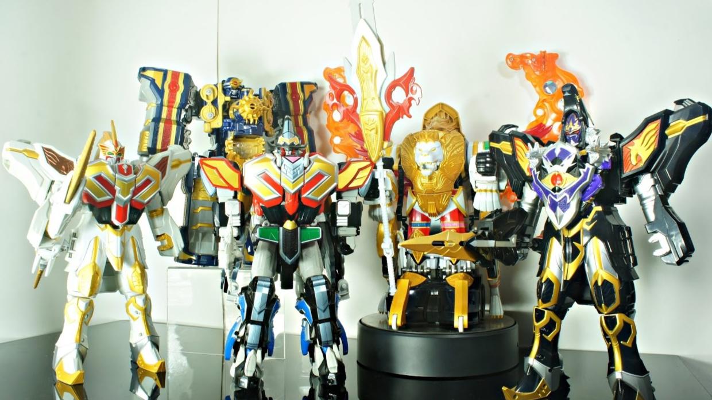 【DH】魔法战队  DX  全合体  机器人